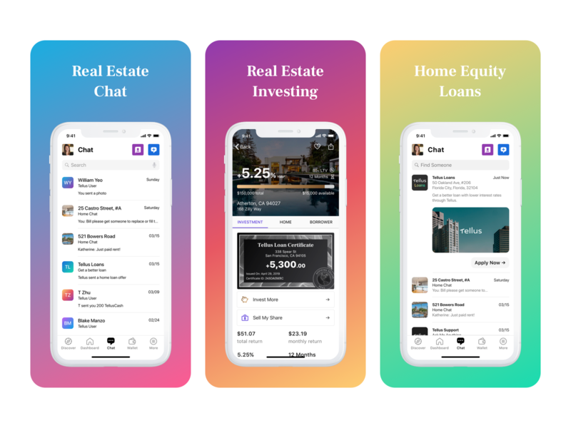 App Store Screenshots - New Features product mobile marketing collateral marketing iphone ios app ui real estate interface design