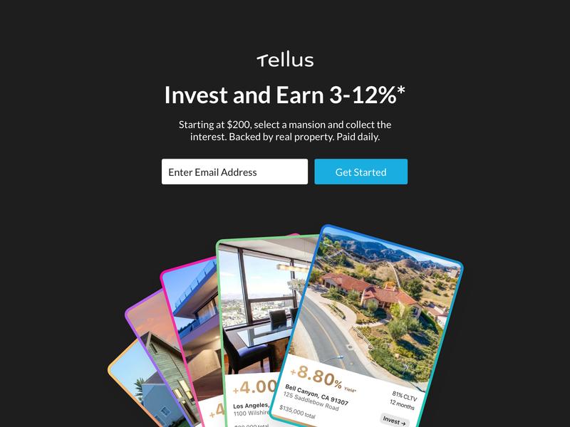 Invest Waitlist finance waitlist website web investment product design real estate