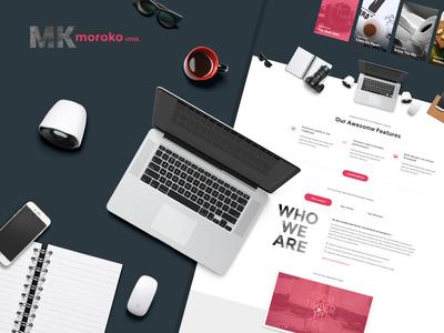 Moroko - Bootstrap Responsive Template