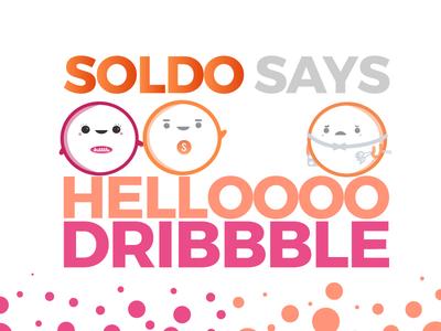 Helloooooo Dribbble  fintech illustration logos debut soldo