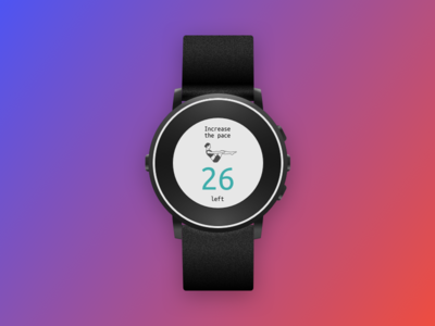 #Day 014 Countdown timer ux ui product interface dailyui daily designapp flat watch pebble