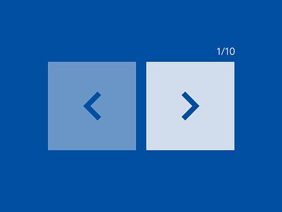 Blue indicator blue indicator ui