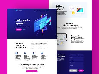 Premium Logic Website software saas logic premium illustration web design website web ui