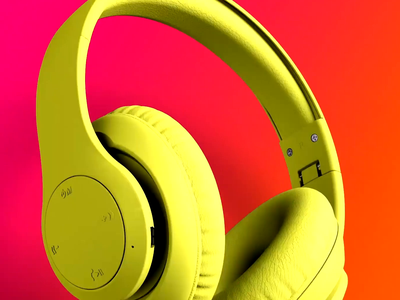 NCredible Audio Neon Collection Promo Video promo animation video rendering modelling 3d
