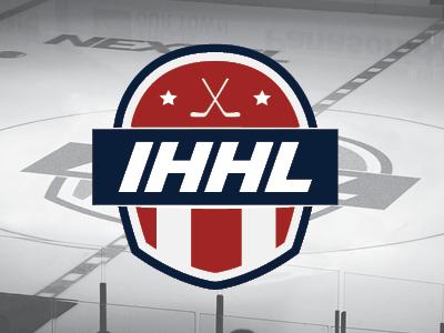 Icehouse Hockey League sports league hockey logo