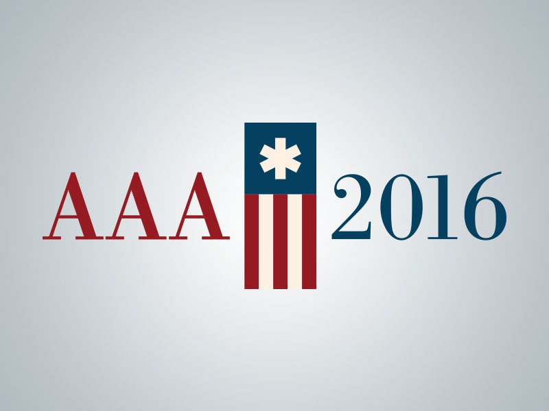 2016 AAA Conference Mark meeting annual conference conference usa flag logo