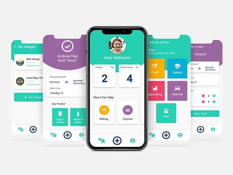 Village app community non profit non-profit mobile app
