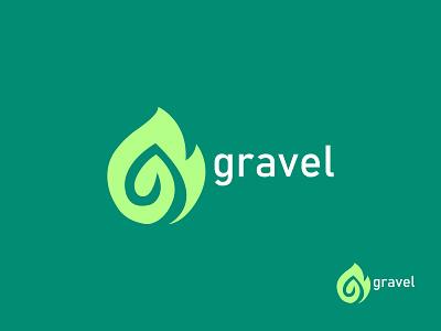 G modern Logo (Gravel) ui ux vector design icon logo graphic design illustration brand design branding