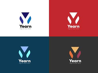 Modern Y latter mark ui vector design icon logo graphic design illustration brand design branding