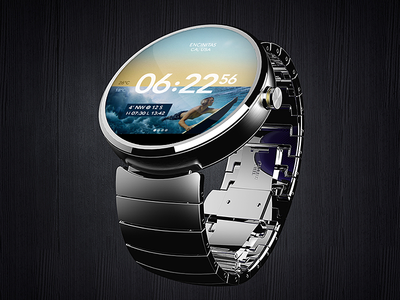 Surfwatch Android Wear surfing surf moto 360 tide waves android wear