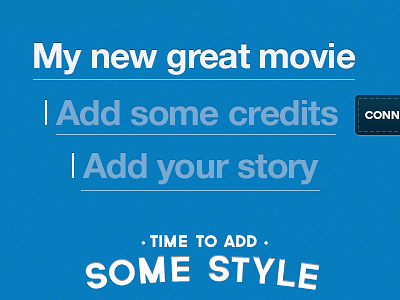Add some details movie input cursor guide text input field