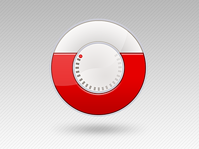 Usage icon - circular icon u application usage letter