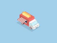 Hot-dog truck