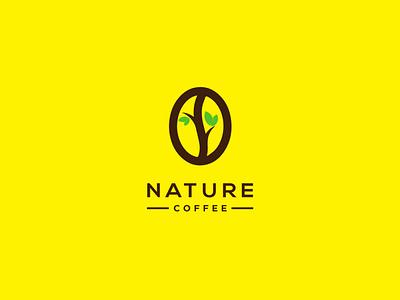 Nature Coffee Branding brand design logo type logo design creative logo creative flat logo illustration logo abstract logo design branding modernlogodesign lettermark logo brand identity brand identity design brand designer