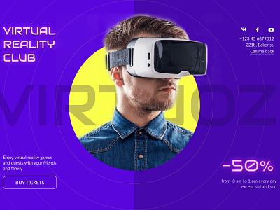 VRC web ui design