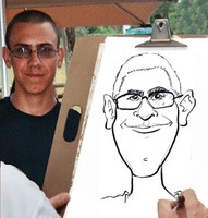 Caricature From Tampa Event