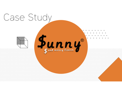 Sunny Case Study coming soon. logo app vector branding illustration icon ux ui typography design