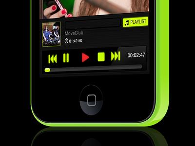 Move Club App iphone player move club dance music dj photos green disco play sexy app
