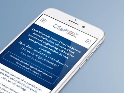 Responsive Design: CSAP