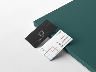 SQUARE interior ux vector ui illustration minimalist graphic design branding adobe photoshop logo design