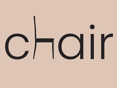 Chair ux vector ui illustration minimalist graphic design branding adobe photoshop logo design