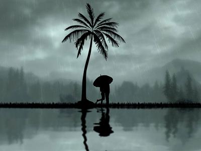 Rainy Loves ux vector ui illustration minimalist graphic design branding adobe photoshop logo design