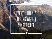 Every journey...