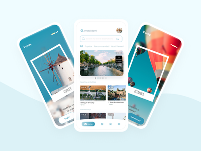 Travel and Vacation Mobile App UI/UX Design minimal casestudy freelancing freelancer sketch ux design mobile ui travel design mockups colours typogaphy tour illustration vacations travel app mobile app design mobile app uxdesign uiux figma