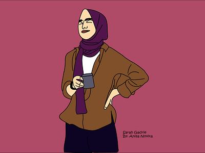 Sarah Gadrie vectorart vector illustration illustration design vector