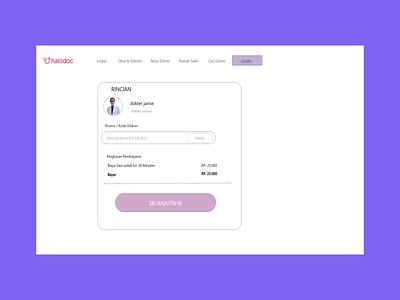 Project Website Halodoc ux ui design