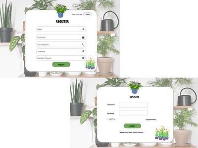 Project Lomba Web Design ux ui design