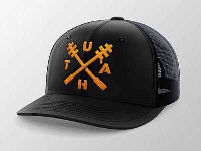 Honey Sticks Hat logo hat bee honey stick honey
