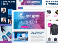 Silicon Slopes Tech Summit 2018 Website