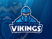 Pleasant Grove Jr High Vikings Rebrand