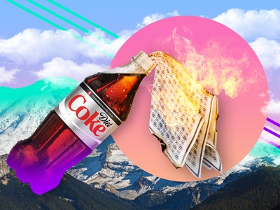 Surreal Stories: Collection 1 - Diet Coke Cocktail