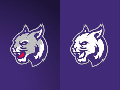 Purple Wildcat Logo FOR SALE
