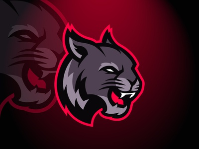Panther or Wildcat Logo FOR SALE