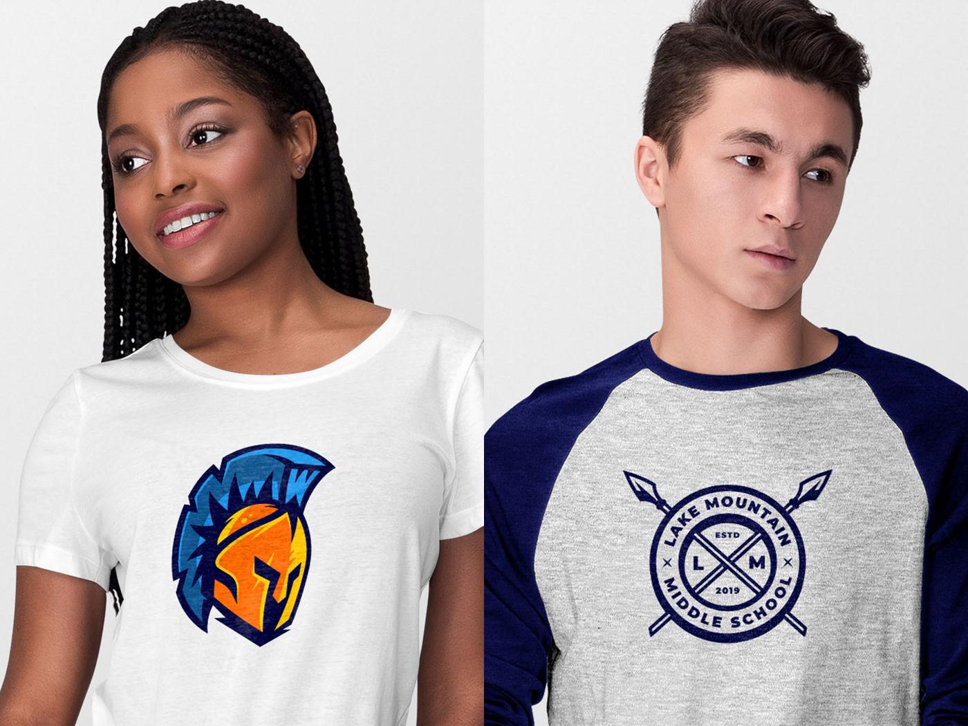Warriors Shirt Designs high school rebrand shield armor greek espn sports football nfl spartan