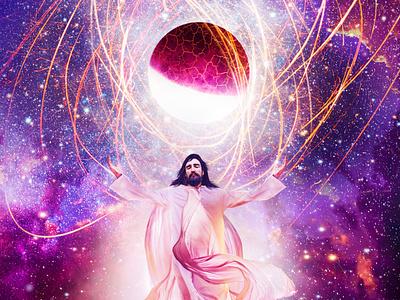 In The Beginning the word jesus christ mormon art mormon bible bible art the creation jehova jesus