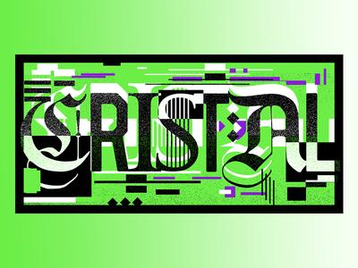 Lettering for Cristal