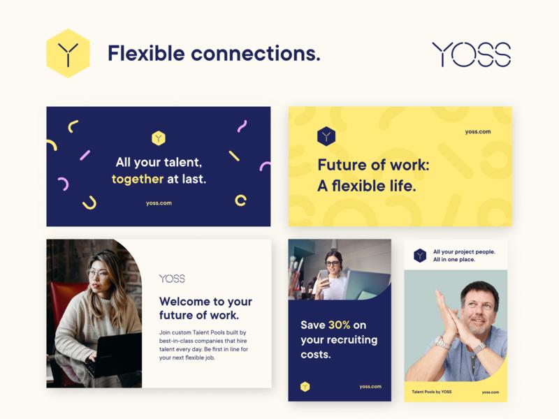 YOSS Brand identity redesign identitydesign branding brandidentity
