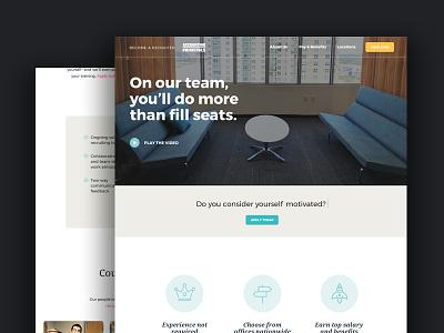 UX/UI for Internal Careers Website