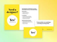 Freelance Marketing Materials
