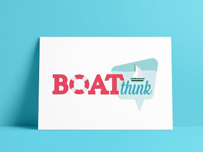 Boat Think Logo Design