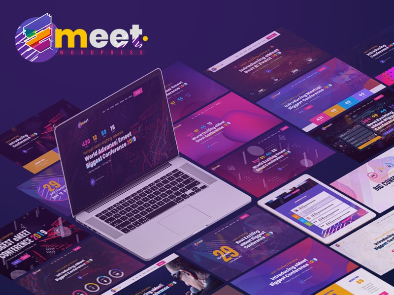 Event WordPress | Emeet for Event, Conference and Meetup emeet speaker seminar meetup meeting festival exhibition event website event course convocation congress conference concert