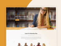 Education Plus - Education, Academy, Courses & Training Template