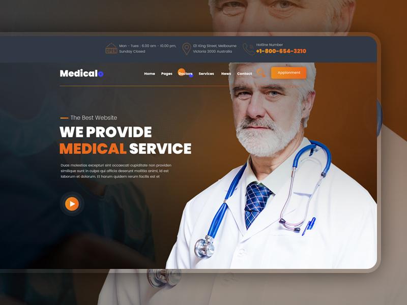 Medical Hero Image hospital clinic doctor medical