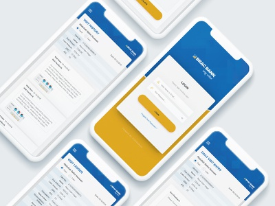 Brack Bank - Collection Management System (CMS) mobile app design collection management system cms bank