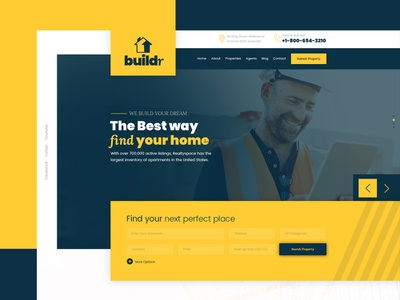 Real State Hero construction builder real state