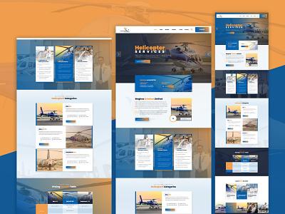 Aviation Website Design aviation